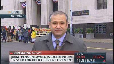 Detroit judge to issue ruling on bankruptcy