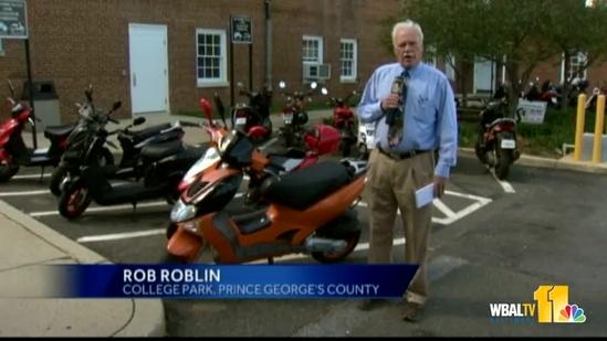 New laws in place for motor scooters in Maryland