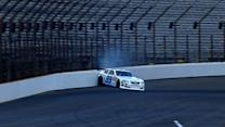 Bowman smacks the wall in qualifying
