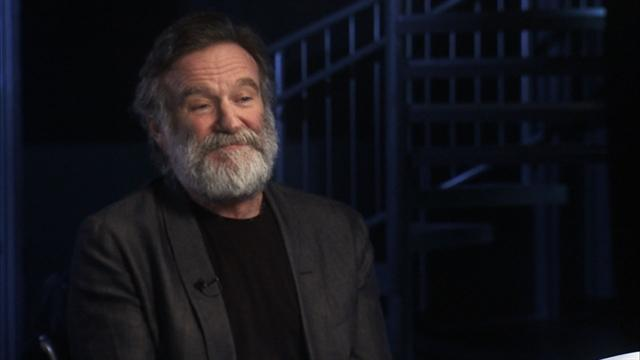 Robin Williams on his Broadway debut role