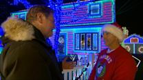 'Tony Christmas' Covers House in 60,000 Christmas Lights in Epic Display
