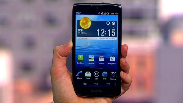 Pantech Discover, AT&T's higher-end 'budget' Android