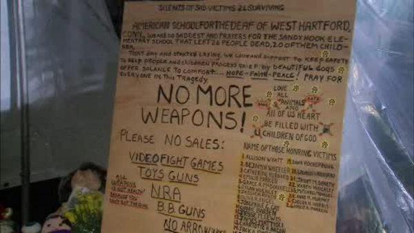 Newtown residents react to NRA press conference
