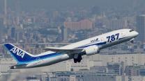 Raw: Japan's ANA Test-flies 787
