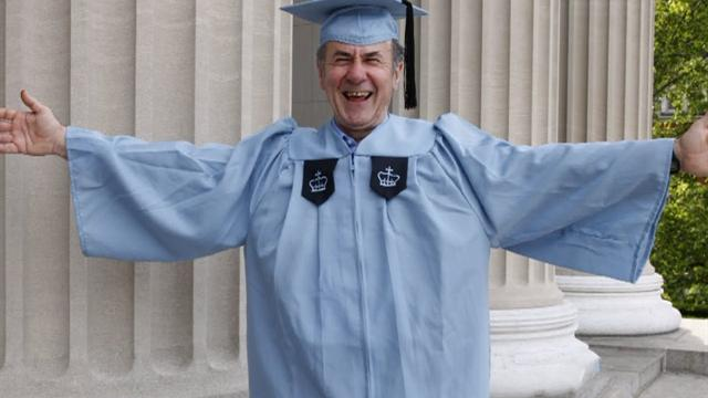 Columbia Univ. janitor becomes Ivy League grad