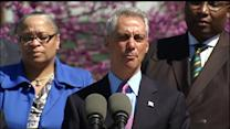 Raw: Mayor Emanuel discusses new park programs