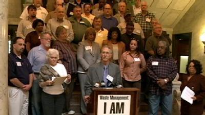 Miss. Labor Leaders Support Wis. State Employees