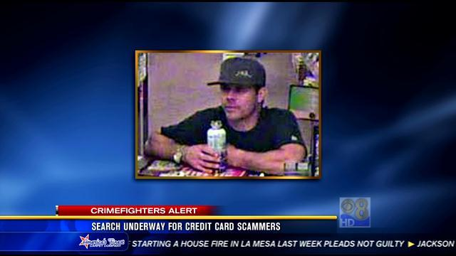 Search underway for credit card scammers