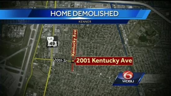 Family watches in horror as home demolished by city