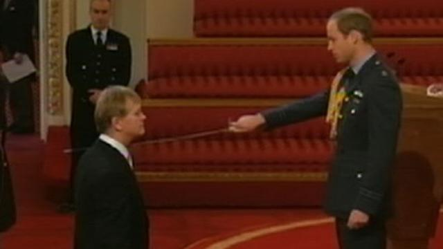 Prince William Hosts 1st Ceremony at Buckingham Palace