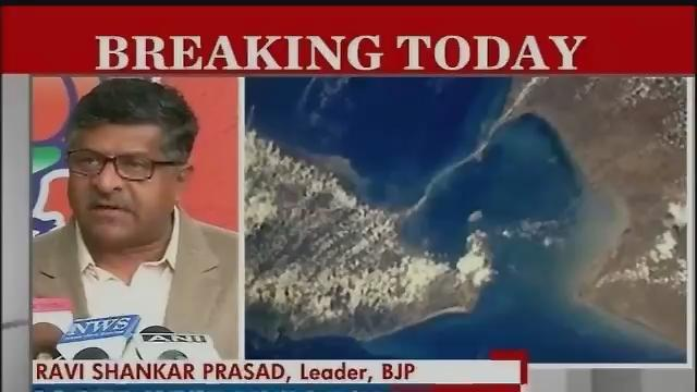 BJP warns govt against going ahead with Setusamudram project