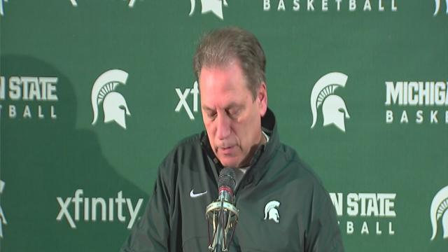 Izzo excited about showdown with top-ranked Indiana