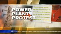 Residents rally against proposed power plant