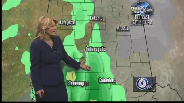 Storms Dot Qualifying Weekend Forecast