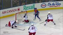 Ryan Smyth smacks one out of the air