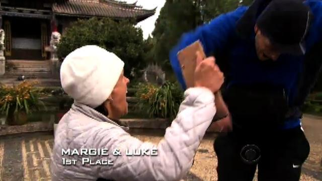The Amazing Race 18 - Margie and Luke Arrive First