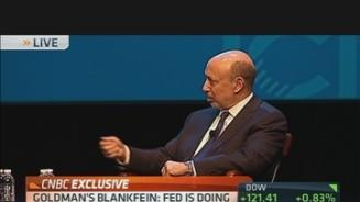 Blankfein: Business Reluctant to Borrow