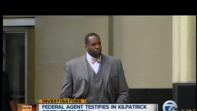 Federal agent testifies in Kilpatrick corruption trial