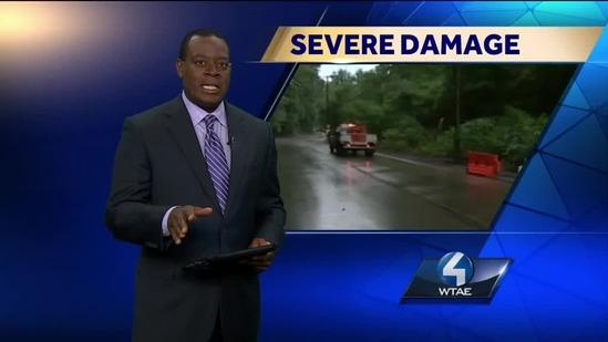 Severe weather causes more flooding, mudslides, downed trees, power lines