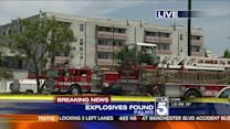 Authorities Detonate Explosives Found in Palms Apartment