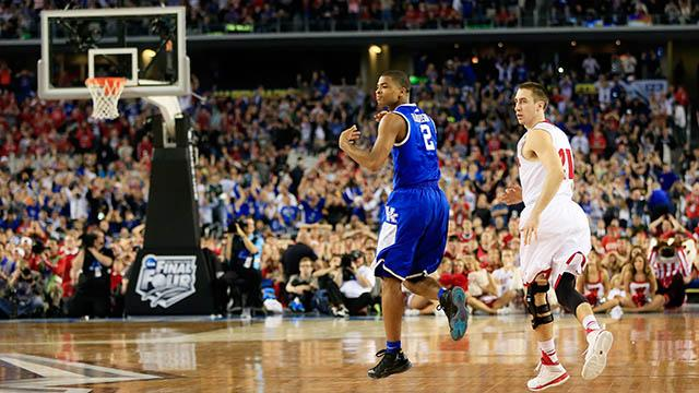 Aaron Harrison on his Final Four game winner