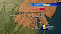 Maryland's Tuesday evening weather forecast