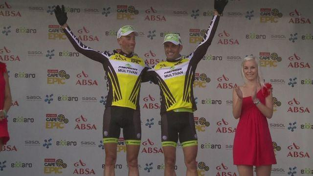Hermida & van Houts win Cape Epic prologue time trial