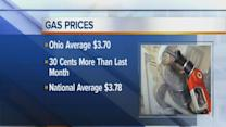 Noon: Ohio gas prices down