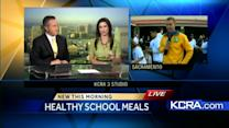 Healthy changes on the menu for school lunches