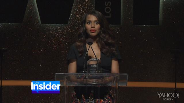 Kerry Washington's First Post-Baby Red Carpet Appearance