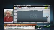 Whole Foods: Home delivery 'not viable' yet
