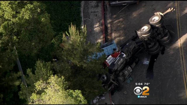 Heavy Duty Truck Had 'Some Kind Of Malfunction' In Crash That Killed Veteran LAPD Officer