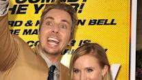 Kristen Bell's hit and run on the red carpet
