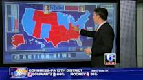 How the candidates fared in each state