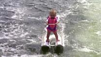 6-Month-Old Girl Breaks World Record on Water Skis