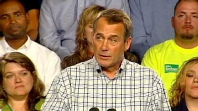 Boehner Comes Home To Make GOP Policy Speech