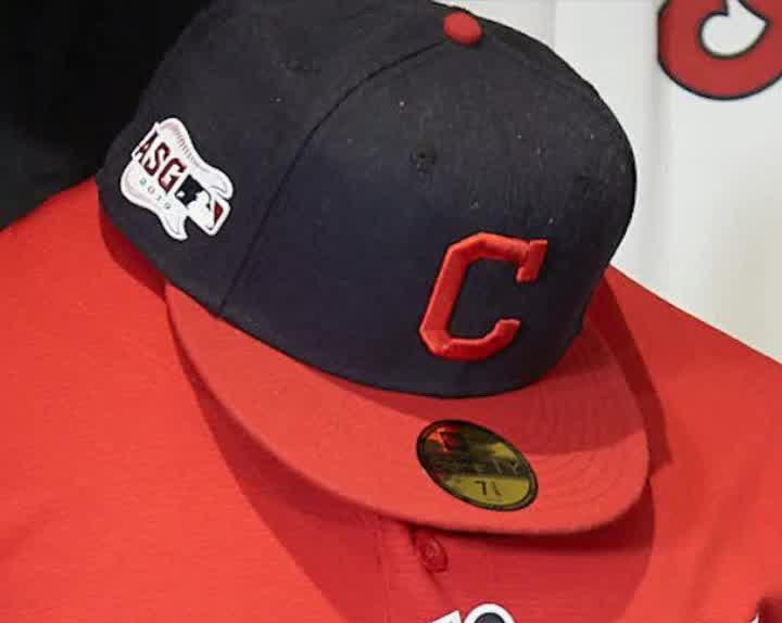3d737b6e86026c Cleveland Indians unveil uniforms without the Chief Wahoo logo [Video]