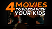 What to Stream: 4 Movies to Watch With Your Kids