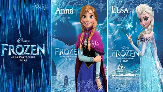Preview Of Hollywood Animated Movie Frozen