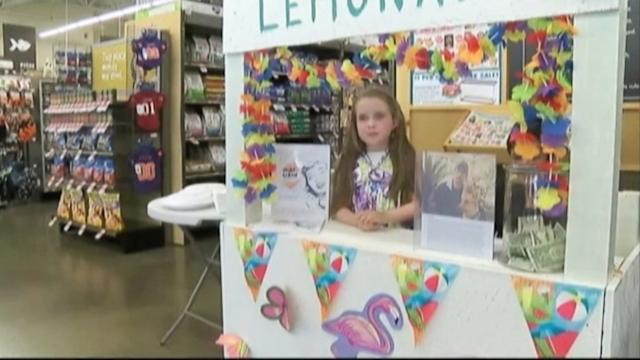 Girl, 8, Sets Up Lemonade Stand to Aid Wounded Vet