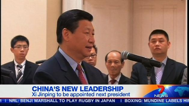 China to appoint new leaders
