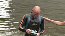 Men Swim CT River To Raise Awareness Of Child Sex Abuse