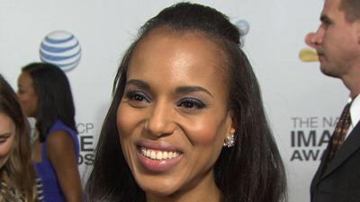 NAACP Image Awards 2013: Kerry Washington's 'Exciting' Night