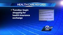 Health insurance exchange launches Tuesday