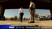 Lowering the legal limit: CHP driving test simulates DUI
