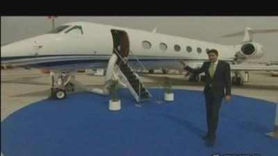Swanky jets at the Dubai Air Show