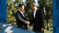 California Breaking News: Obama and China President Xi Take a Morning a Stroll