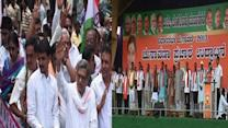 Congress, BJP kick start campaign for 2013