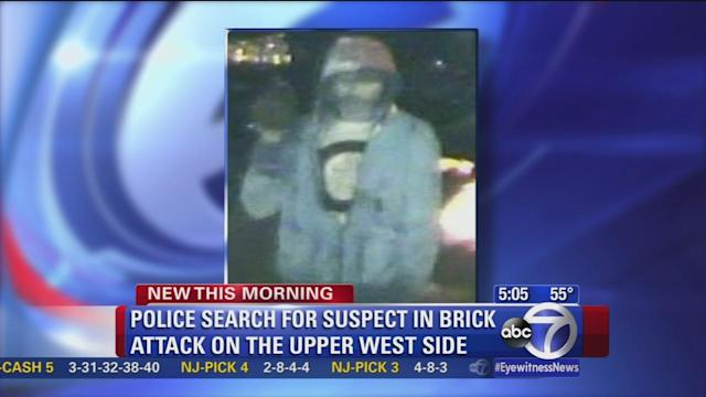 Man attacked with brick during UWS robbery