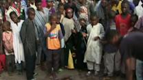 Raw: Deadly Blast at Nigeria WC Viewing Site
